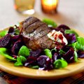 Seared Aberdeen angus steak with horseradish sauce
