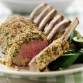 Lamb with oatmeal & herb crust