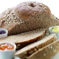 Wholemeal cottage loaf