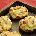 Crunchy & creamy cheese & bacon jackets