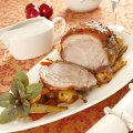 Pork shoulder roast with crackling