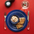 Nutmeg spiced smoked salmon pate with walnuts