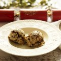 Christmas pudding ice cream