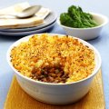 Cottage pie with carrot & potato mash