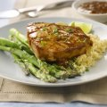 Easy-glazed tuna steaks