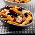 Penne with tuna & olives
