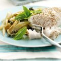 Maria Elia's baked cobia with fennel, orange and capers