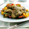 Maria Elia's pan-fried chermoula marinated cobia