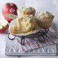 Oaty crumble apple muffin