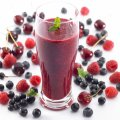 Anti-ageing blackcurrant juice boost