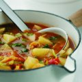 Potato & tomato Italian soup