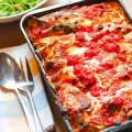 Baby spinach & ricotta easy cannelloni