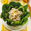 Lemon chicken leafy salad