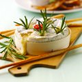 Rosemary & garlic infused warm camembert