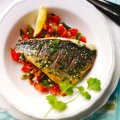 Atul Kochhar's grilled red bream with spice rub