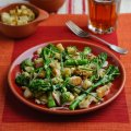 Valentine Warner's Tenderstem broccoli with shallot vinaigrette