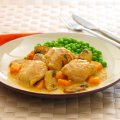 Creamy chicken & butternut braise