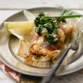 Lesley Waters' Tenderstem broccoli & salmon parcels