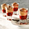 Jennifer Saunders' simple choccy mousse shots
