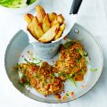Alex Mackay's mid-week jerk roast chicken & spicy chips