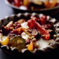 Red pepper & aubergine bake