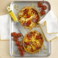 Pepperoni & sweetcorn tarts