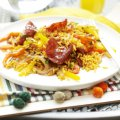 Chorizo & sweet pepper rice