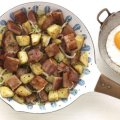 Sausage, bacon & potato hash