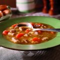 Turkey soup with vegetable & herbs