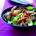 King prawn stir-fry