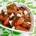 Greek lamb with chantenay carrots & feta