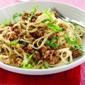 Sun-dried tomato & sausage linguine