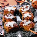Fiendish pumpkin cake