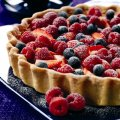 Summer fruit & orange tart