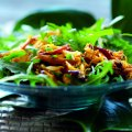 Spiced crab & rocket salad