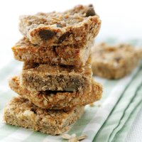 Cheese & oat slices