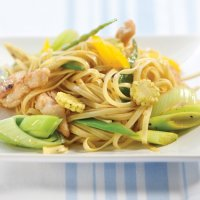 Honey, lemon & ginger stir-fry
