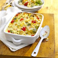 Turkey & Peppadew pepper macaroni cheese