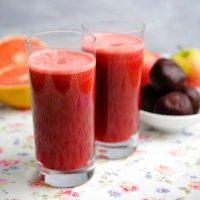 Beetroot, pink lady & grapefruit juice