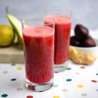 Beetroot, pear & ginger juice