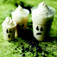 Ghostly milkshake